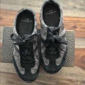 COACH - Kelson Monogram Sneakers (8.5)